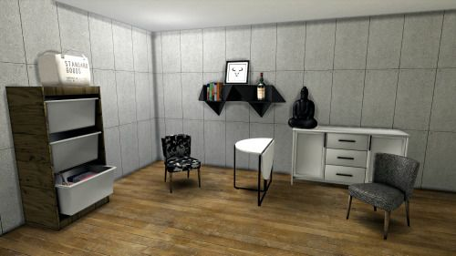 """leo-sims: """" NEW MESHES There are 4 new meshes and 2 conversions. These took a bit long to fix. And i have to thank @wondymoon for his helps and @inabadromance for the help and tips. • Basket Dresser • Dining Table Half Closed • Iroka Chair • Dining..."""