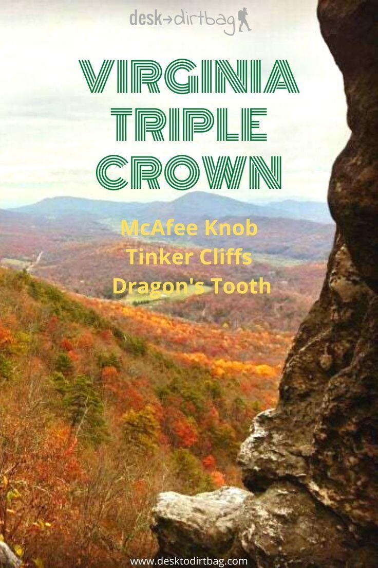 Backpacking the Virginia Triple Crown McAfee, Tinker