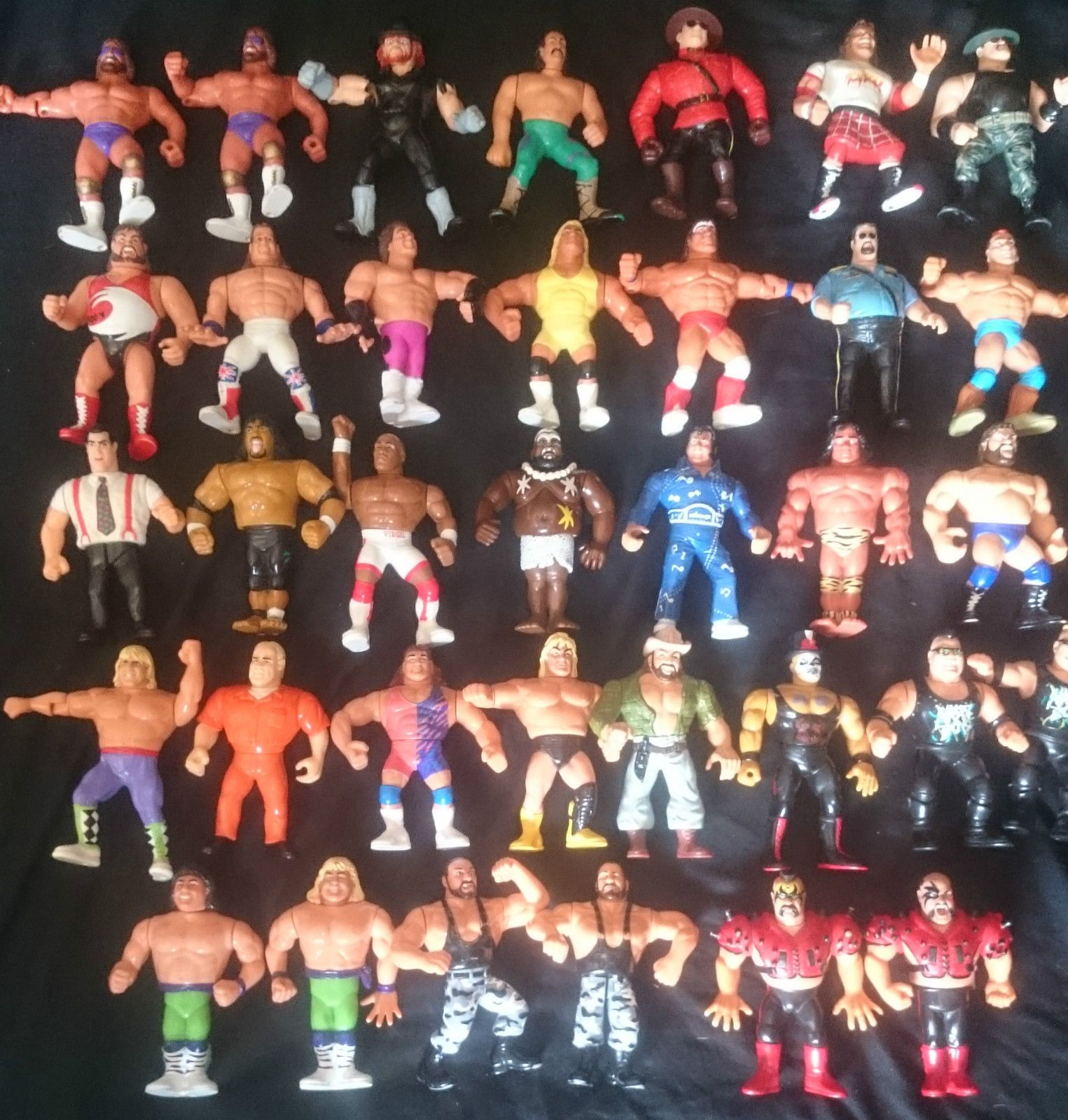 WWE Classic Superstars Wrestling Figure Lot