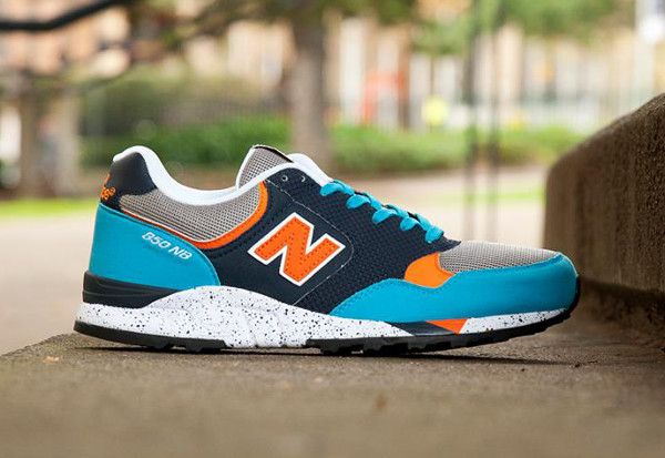 grossiste 9532e 21ce9 New Balance 850 Red & Turquoise/Blue & Orange   Souliers ...