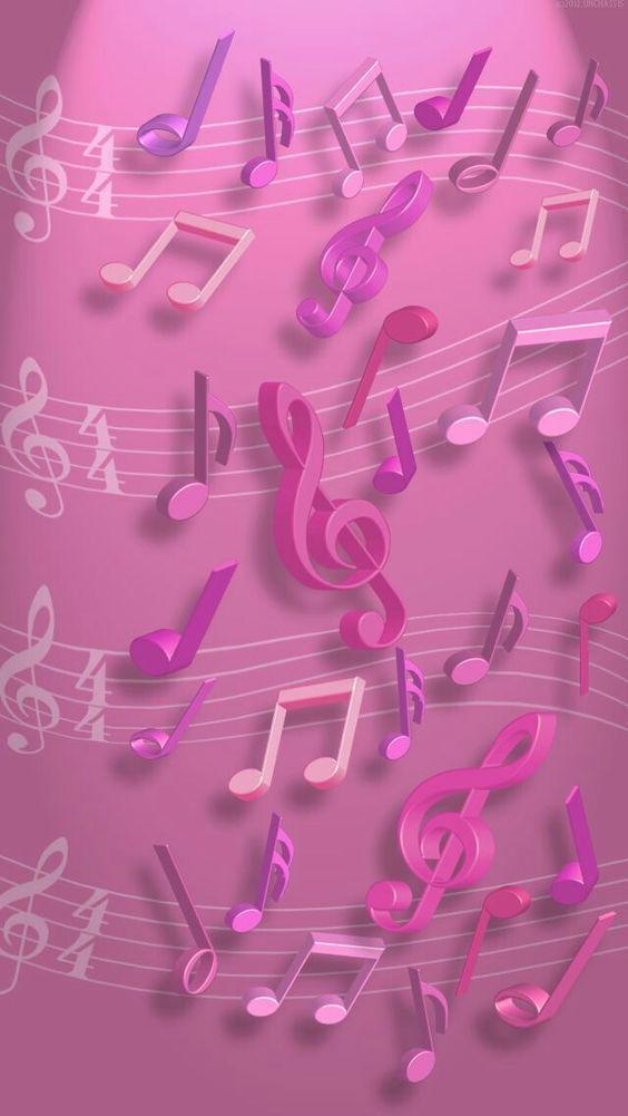 Imagens De Notas Musicais Para Celular Fondos De Pantalla Musica