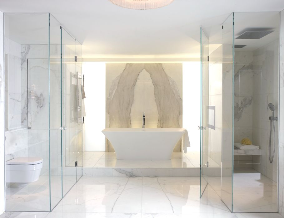 Luxury London Apartments at Walpole Mayfair Adelto Bathroom - baos de lujo