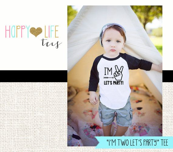 2ee8c245 Birthday boy shirt 2 - Im two lets party - Im two shirt - Birthday ...