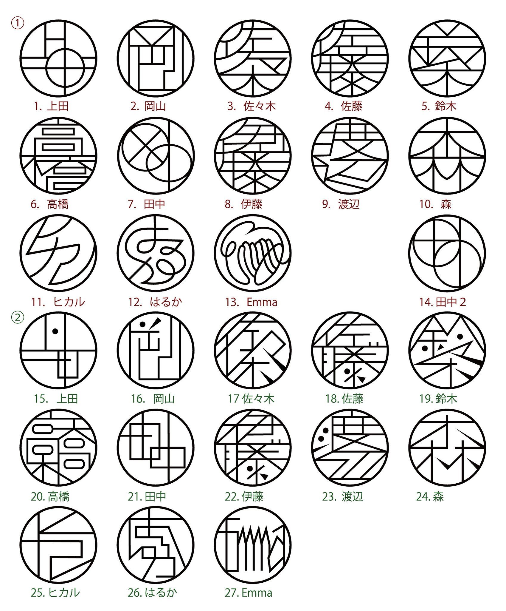 ねこずかん On Twitter 判子 デザイン 篆刻 デザイン 文房具のデザイン