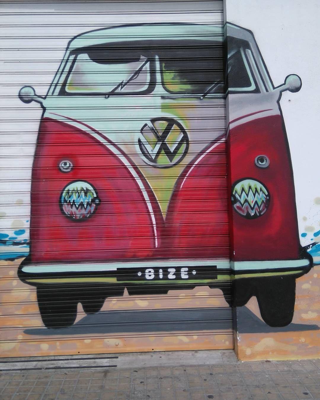 Check out our Surf clothing here! http://ift.tt/1T8lUJC It makes me wanna travel  #vans #streetart art #volkswagen #surf #travel #surflife #beachlife #beach #spain