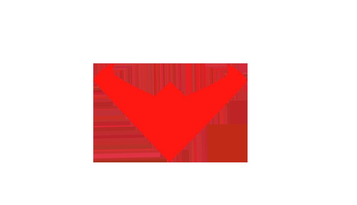 Nightwing Red Logo By Loujr25