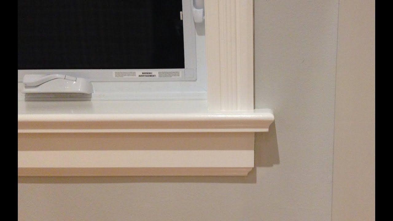 How To Make Window Sills Amp Aprons Https Youtu Be Sveirinsdwk Interior Window Sill Interior Windows Windows