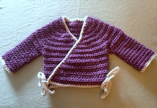 Newborn Kimono Pattern By Amanda Whiting Crochet Baby