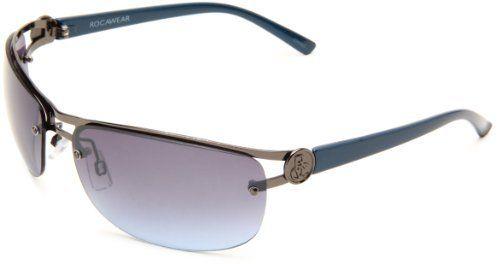 6eed461da10 Rocawear Men s R1183 GUNBL Metal Sunglasses