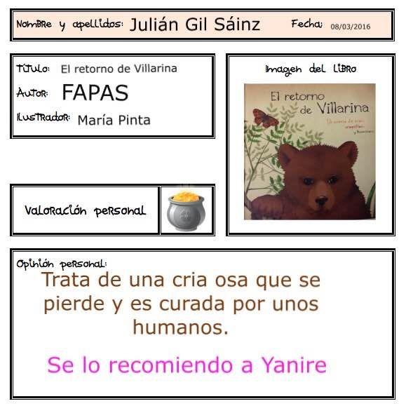 """Julián nos recomienda un libro """"salvaje"""""""