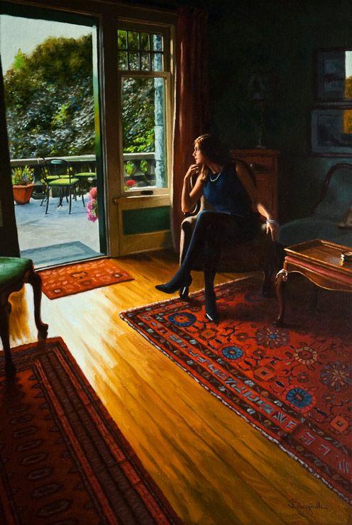 Contemplation #2, by Larry Bracegirdle