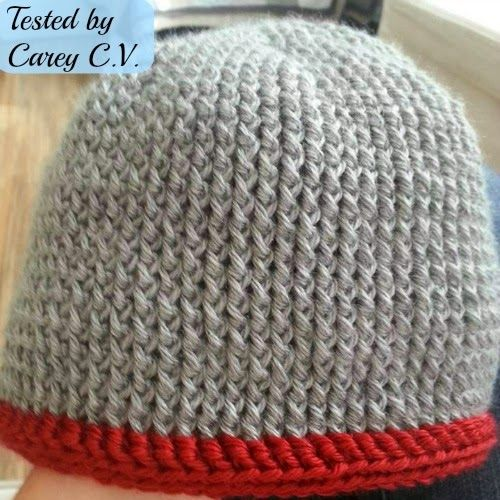 Men\'s Chunky Hat - Free crochet pattern: written instructions, chart ...