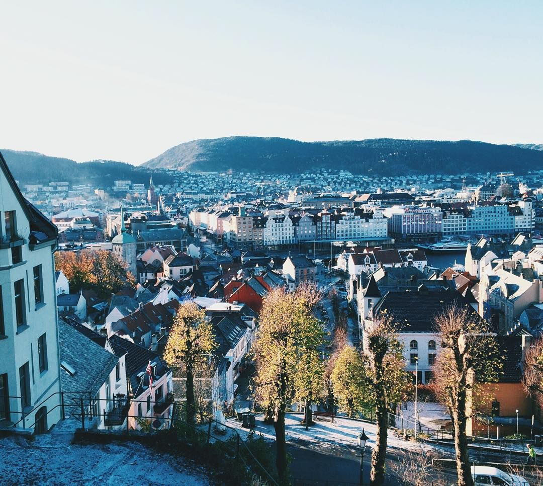 Bergen Norway's Second City and the Gateway to the Fjords. Photo by @simmi.b on Instagram.