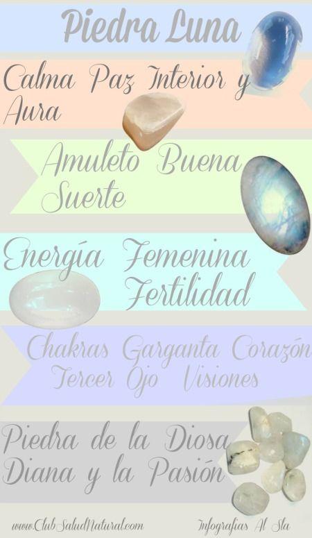 Piedra Luna Club Salud Natural Piedras Y Cristales Piedras Magicas Piedras Curativas