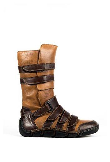 wholesale dealer 59f21 89fe5 Eject Damen Stiefel Boots Herbst/Winter braun Leder (37 ...
