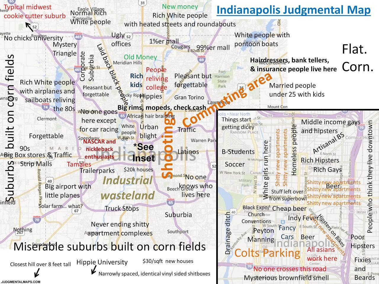 Best Judgmental Maps Images On Pinterest - Los angeles map funny