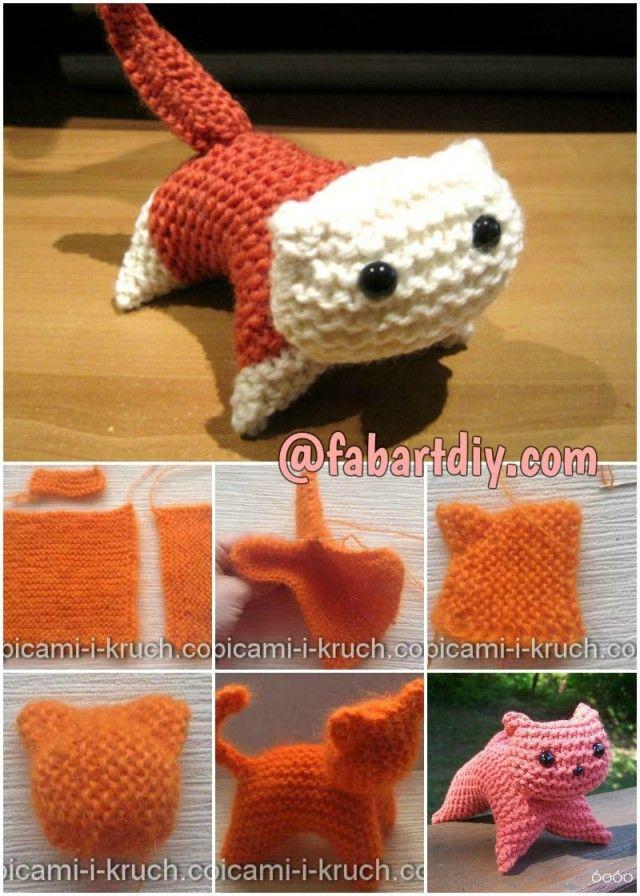 free cat knitting patterns # 37