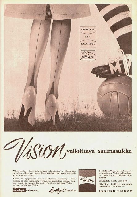 Sukkatyyliä, 1962
