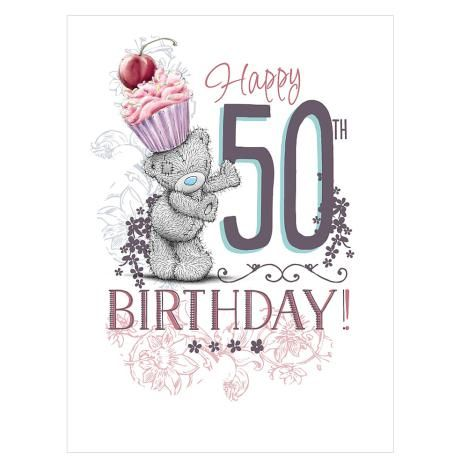 50th Birthday Large Me To You Bear Card Y Ity