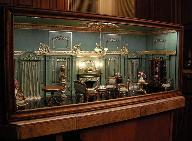 The Green Room Revisited #miniaturerooms