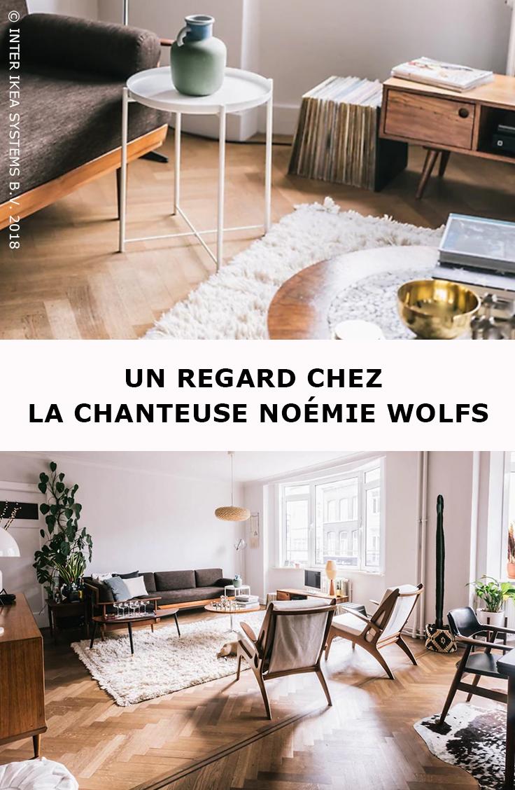 Ma Vie Mon Living Noémie Wolfs Nous Accueille Chez Elle