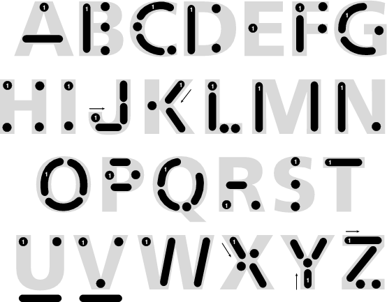 English morse code alphabet learn