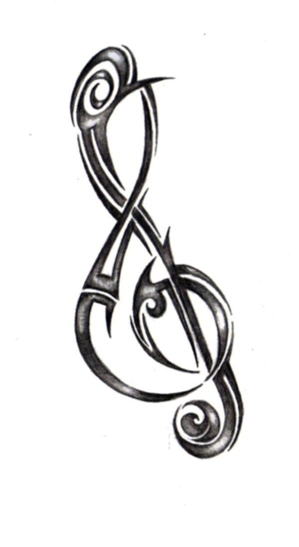 Afbeeldingsresultaat voor mourning treble clef