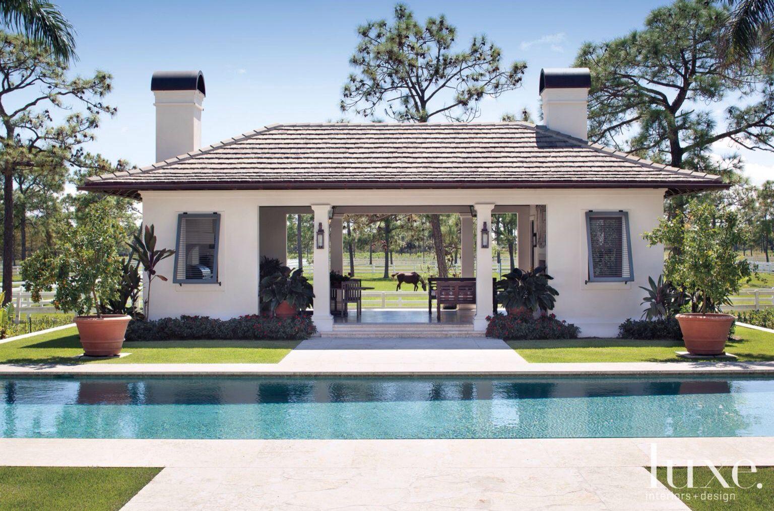 Resultado De Imagen Para Casas Lujosas Con Piscina Y Jardin