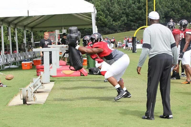 Today is the final open practice Atlanta falcons