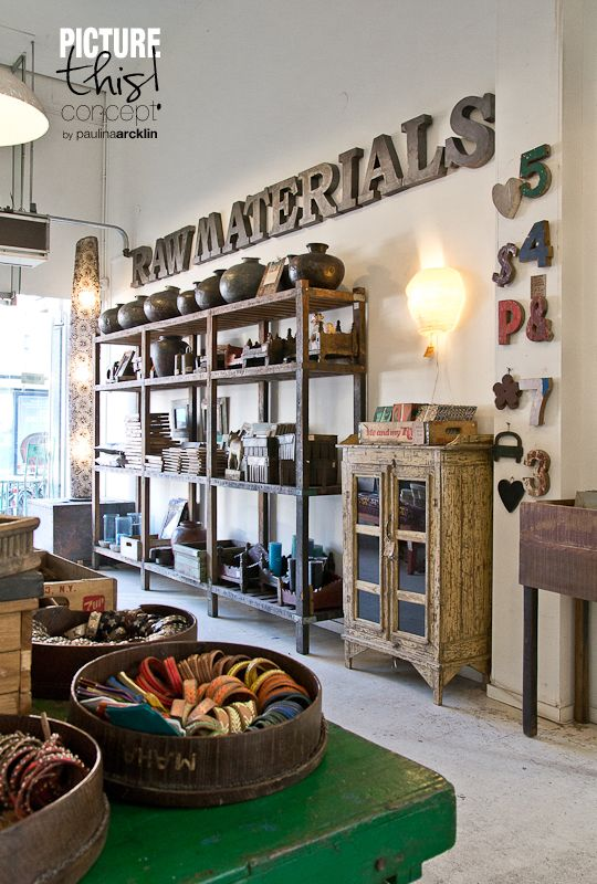 #2 @ Raw Materials - The Home Store