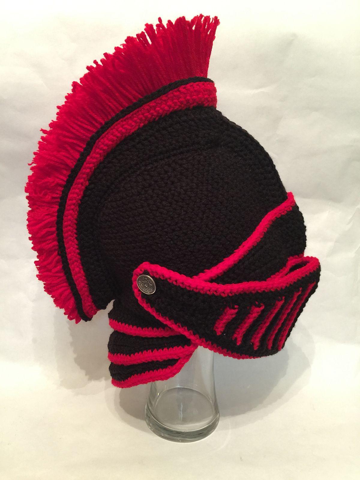 Trojan Black Knight Helmet pattern by Mad Fruit in 2018   Free ...