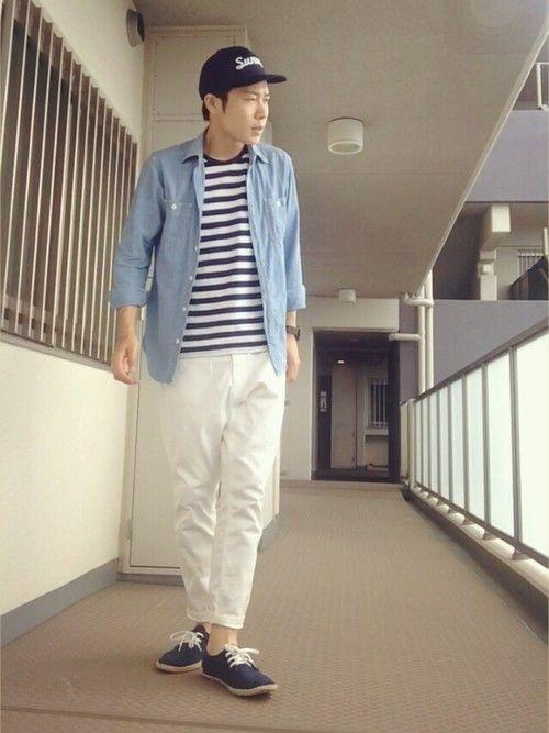 男孩最愛的「橫條紋」上衣搭配 是衣櫃裡永遠不敗的經典款 - JUKSY 流行生活網
