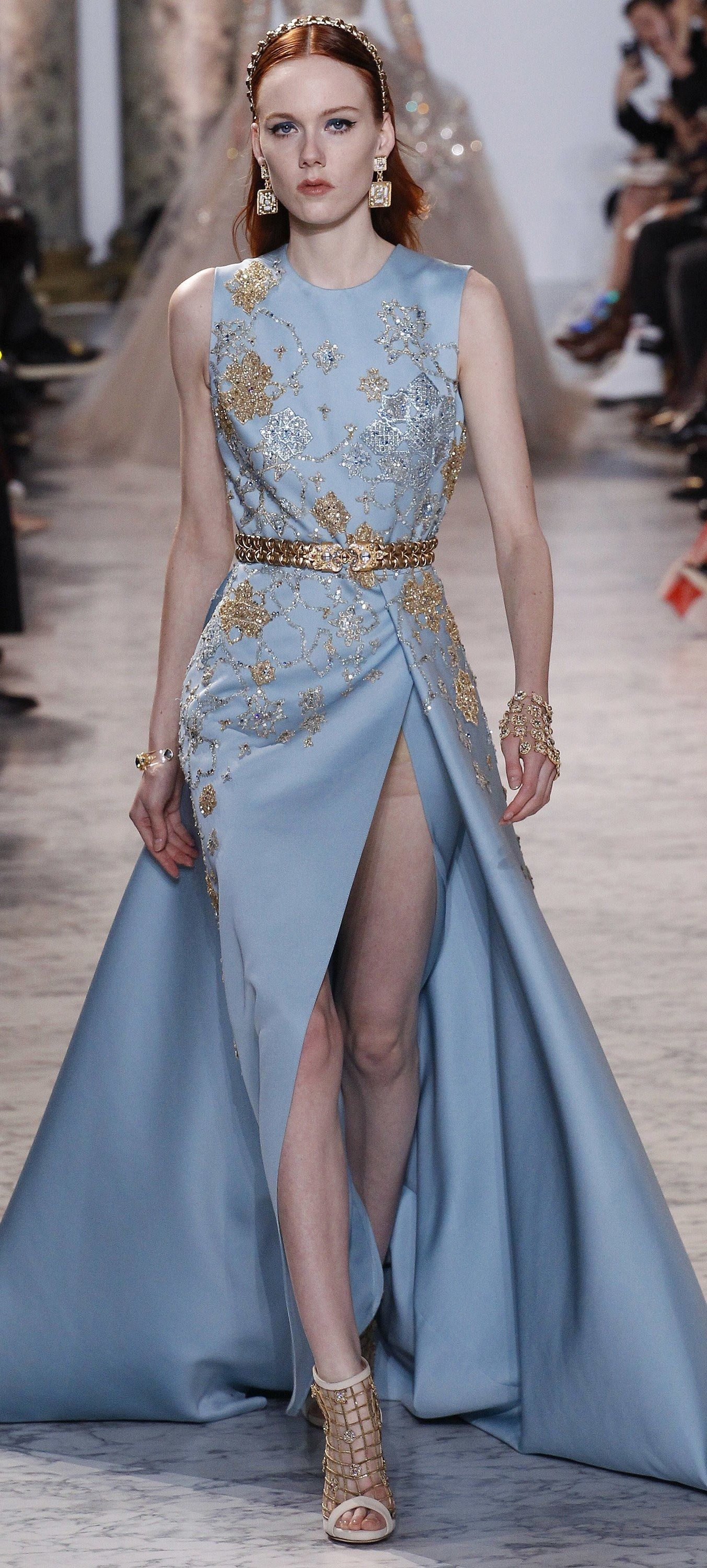 Elie Saab Haute Couture Spring 2017   Fashion Design, Dresses And ...