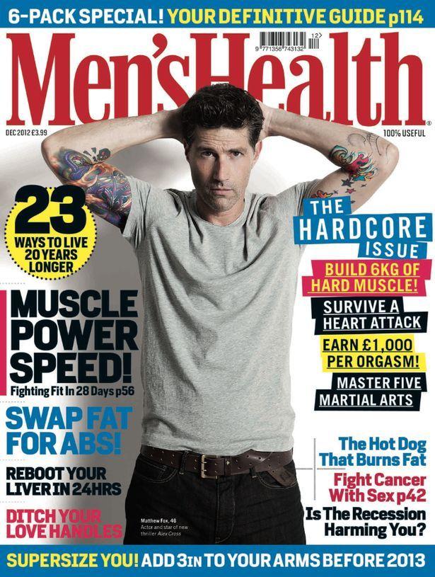 Men's Health Magazine Cover [United States