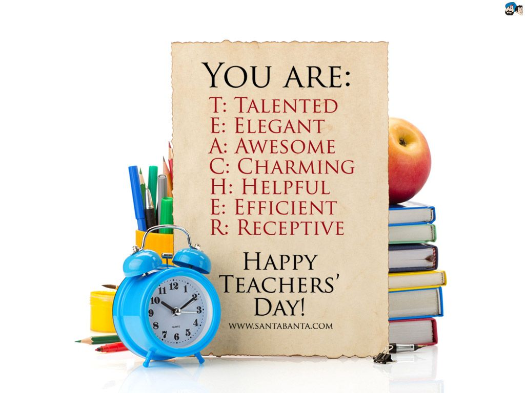 Full Form Of Teacher Happy Teachers Day Greetings Images