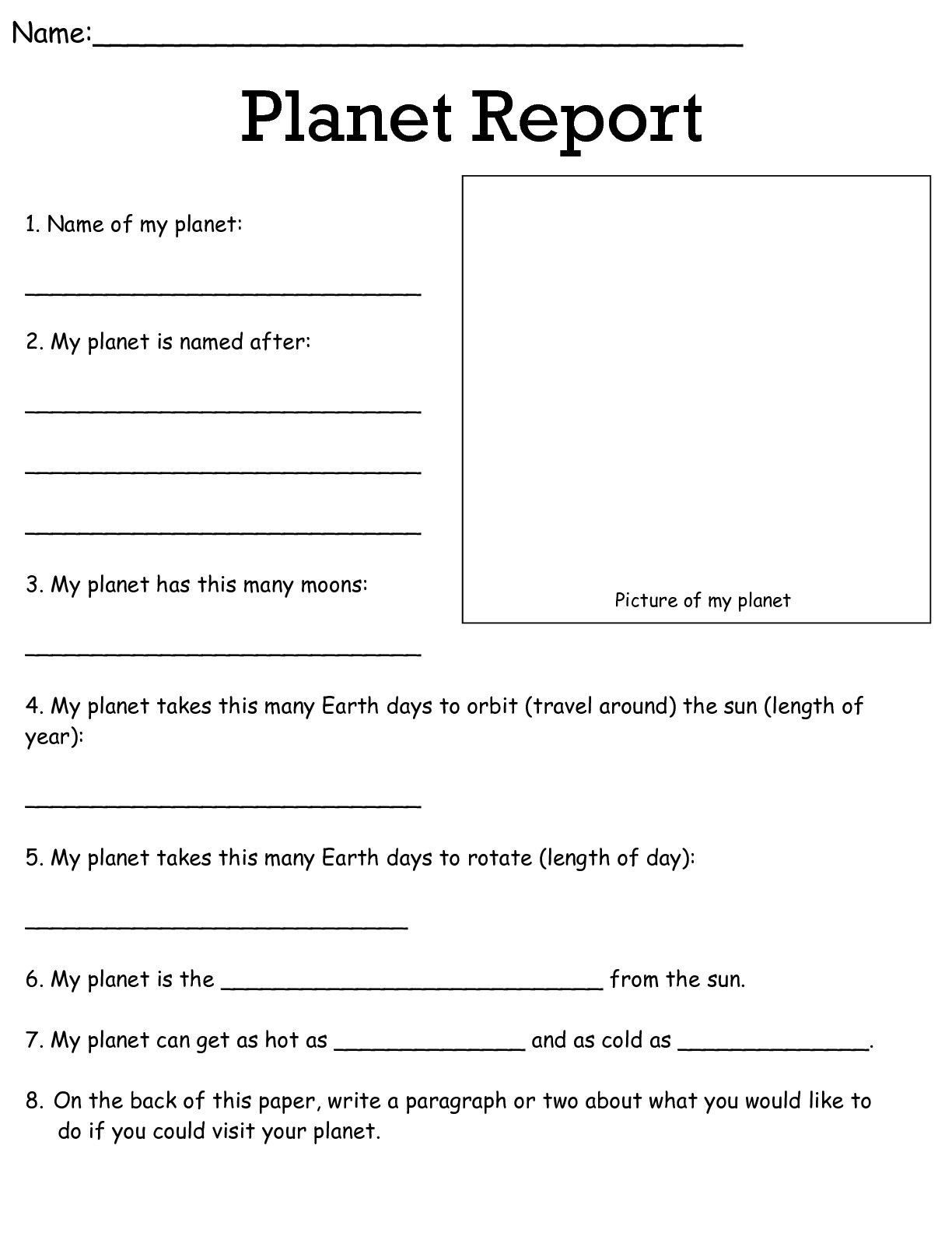 Memorable Science Worksheets For 6th Grade