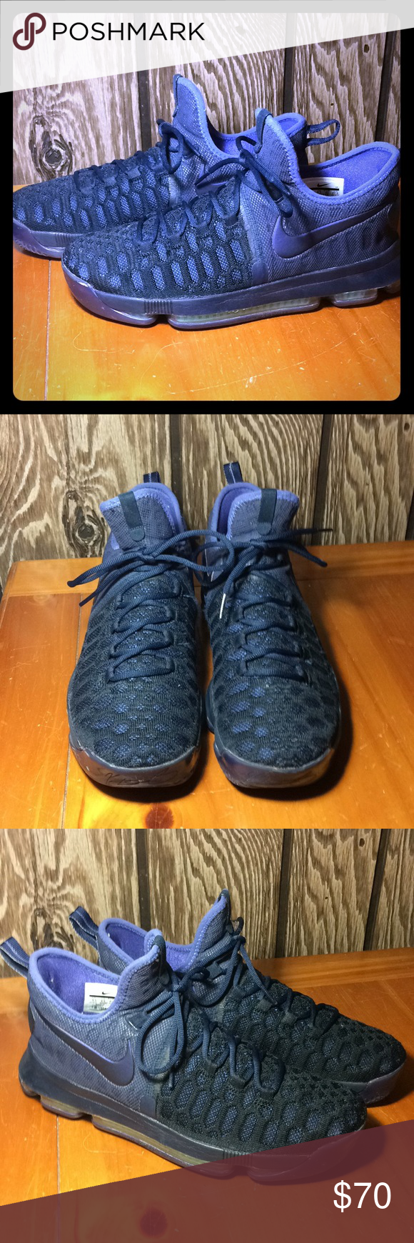6216fb3fe21a ... reduced nike zoom kd 9 obsidian dark purple dust size 9.5 these are  still the best