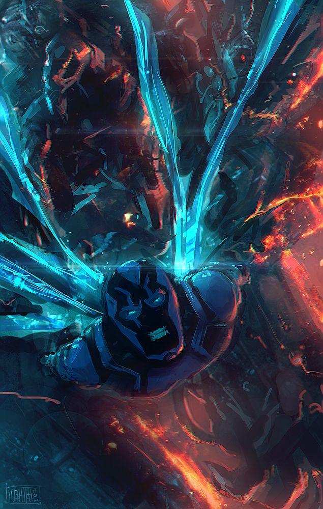 Blue Beetle by Memed
