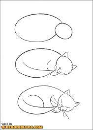 Como Dibujar Un Gato Buscar Con Google Como Dibujar Un Gato Produccion Artistica Dibujos Faciles