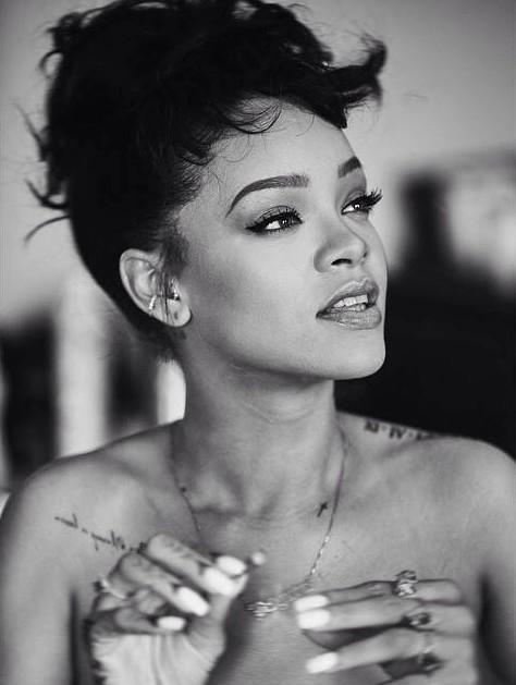 Rihanna Black And White : rihanna, black, white, Rihanna, #black, White,, #hair,, #rihanna, Rihanna,, Riri,, Fenty