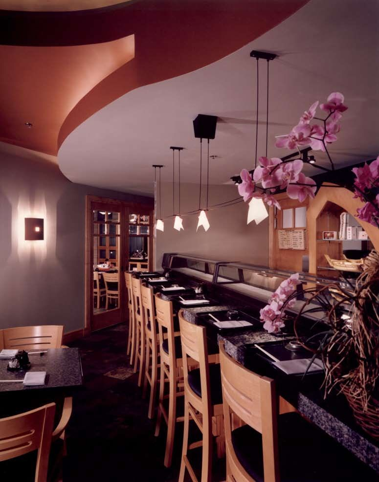 Sushi Bar Design Raymond Evans LLC Austin Texas
