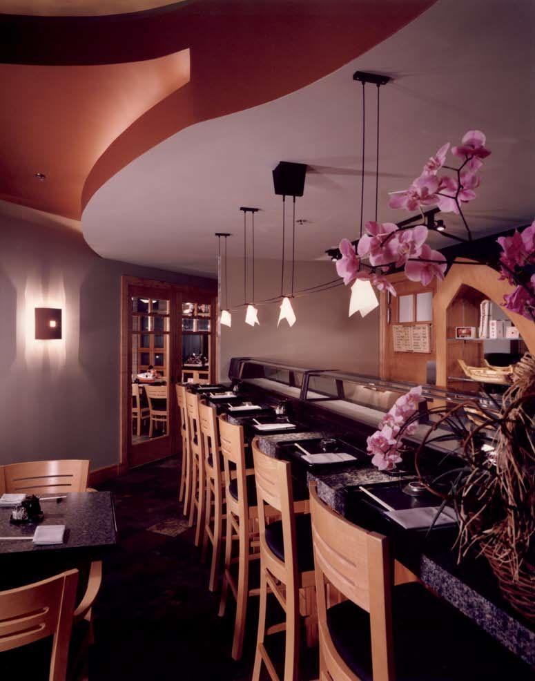 Sushi Bar Design Raymond Evans LLC Austin Texas