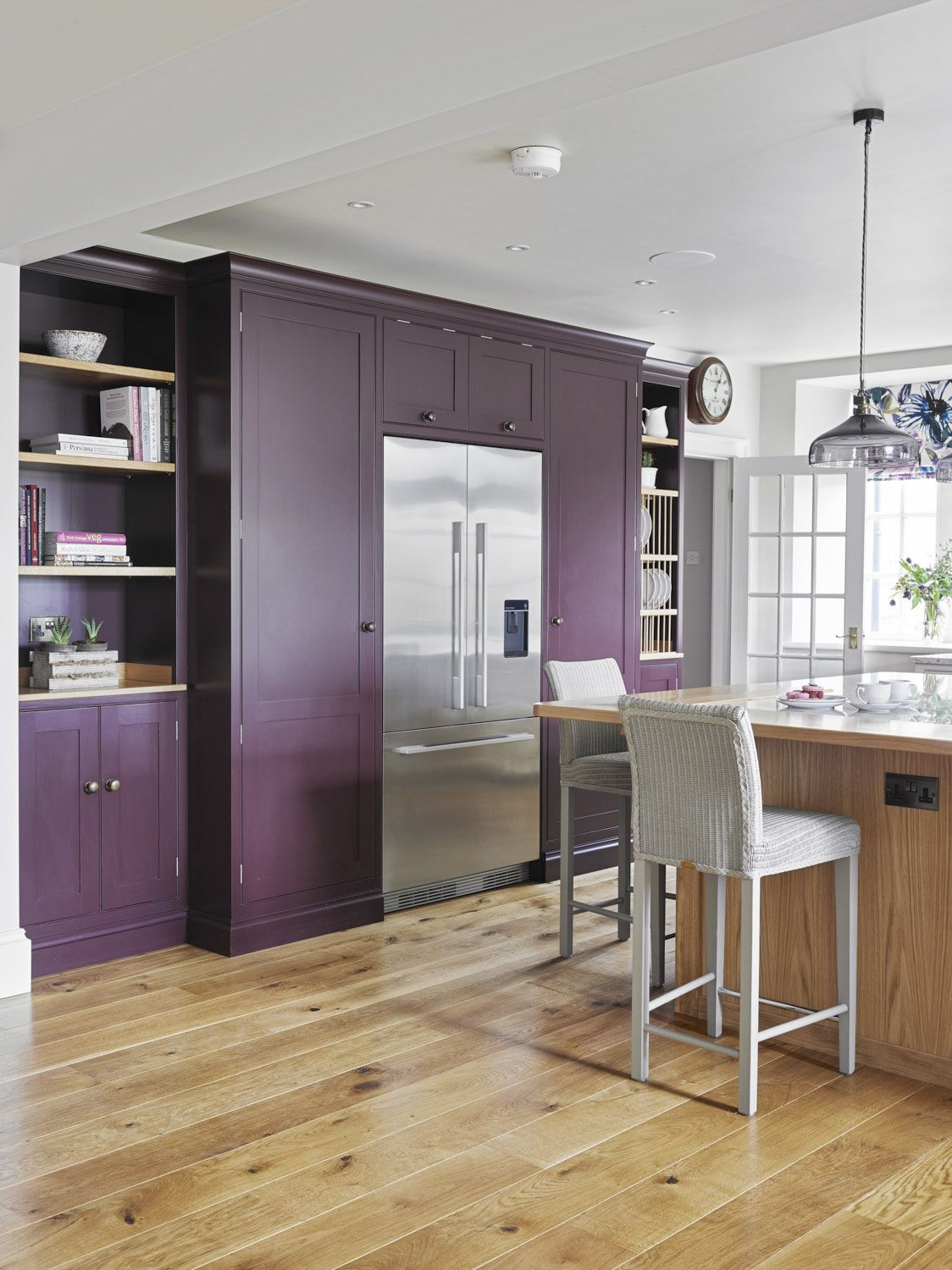 Best We Love The Bold Farrow And Ball Brinjal Bespoke Cabinetry 400 x 300