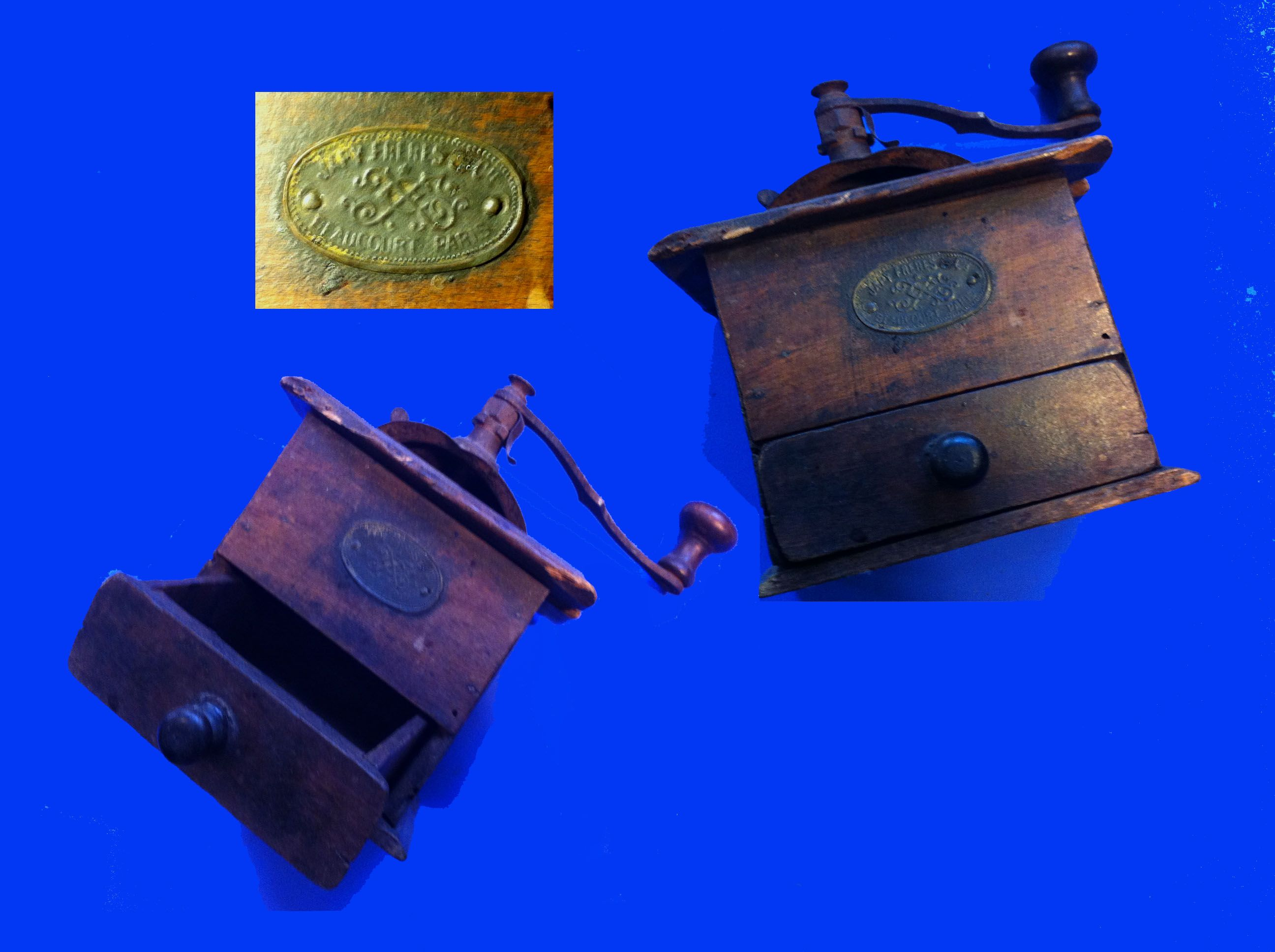 Last century grinder, working !!Ed Darino's collection. (copyright image).