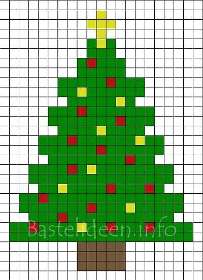 b gelperlen weihnachtsbaum bastelvorlage 400. Black Bedroom Furniture Sets. Home Design Ideas