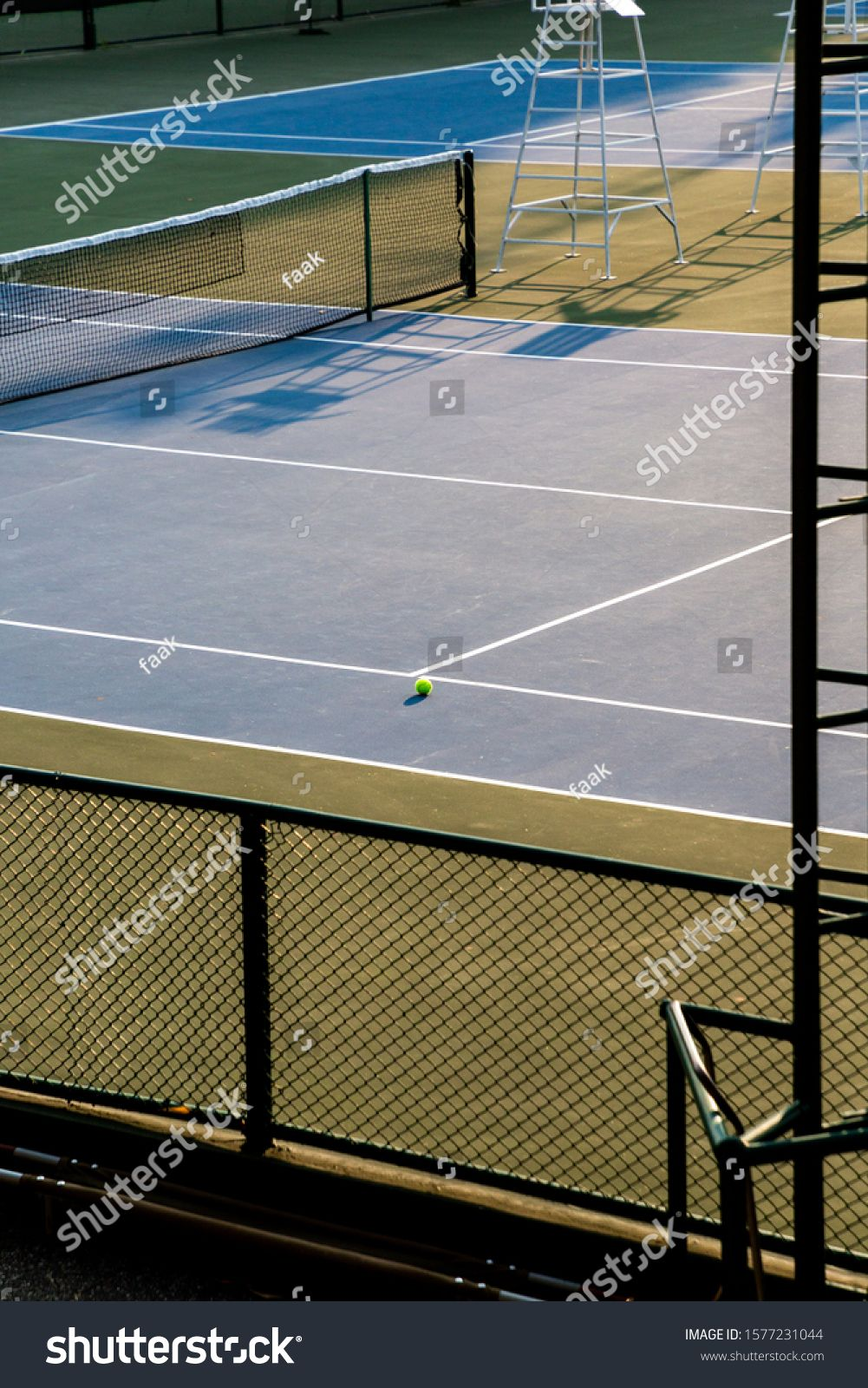 Tennis Ball In Tennis Court Sport Background Concept Vertical Picture Ad Spon Court Sport Tennis Ball Tennis Court Tennis Ball Tennis