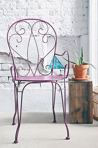 Scrolled Bistro Chair - Urban Outfitters