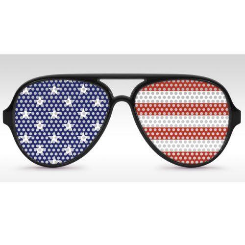 White Aviator American Flag Sunglasses Theflagshirt Com American Flag Sunglasses Patriotic Outfit American Flag