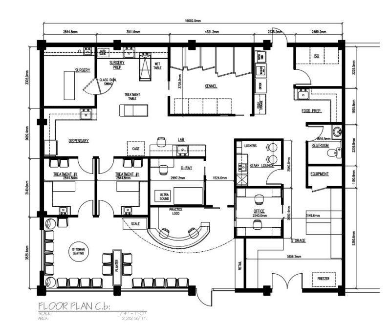 Veterinary Floor Plan Design Hospital Floor Plan Clinic Design Hospital Design