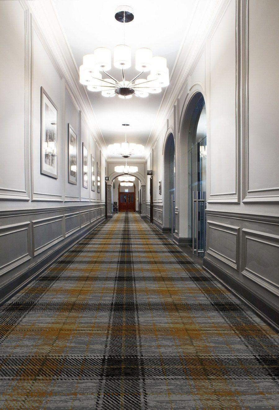 Nova Scotia Tartan Commercial Carpet From Carpet Tiles Design